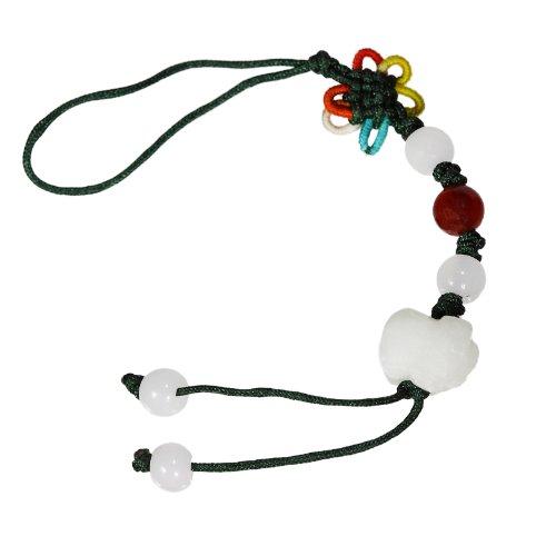 ger aus Jade, chinesische Sternzeichen, Schwein, Schlüsselanhänger, Handyanhänger, Taschenanhänger, 8078 ()