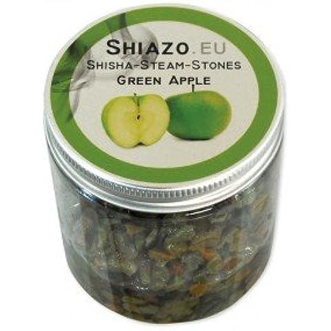 Shiazo Energy - Piedras granuladas para cachimba (sustituye a tabaco, sin nicotina, aroma a manzana verde)
