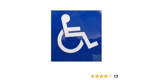 Rollstuhl Logo Auto Sticker Dcs24 Für Innen Auto