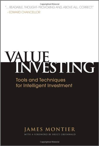 [ [ VALUE INVESTING: TOOLS AND TECHNIQUES FOR INTELLIGENT INVESTMENT - GREENLIGHT BY(MONTIER, JAMES )](AUTHOR)[HARDCOVER]
