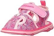 Bubblegummers Unisex's Teeny Red First Walker Shoe (15255), 6 Kid