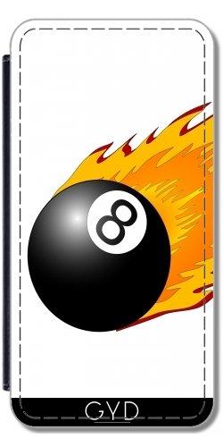 Custodia in PU Pelle per LG G5 - Billard Gioco Di Sport by WonderfulDreamPicture