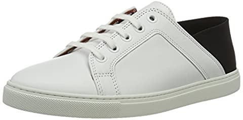 Liebeskind Berlin Lf173300 Calf, Sneakers Basses femme - Multicolore - Mehrfarbig (ivory White), 39