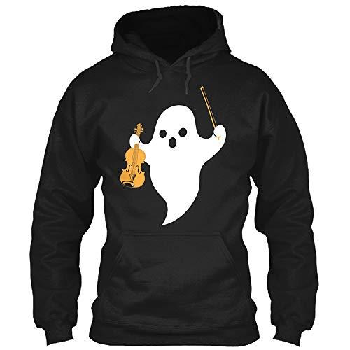 MIRRAY Unisex Damen Herren Halloween Pullover Paare 3D Ghost Print Hoodies Bluse Sweatshirt