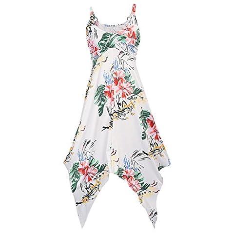 Long White Halter Dress - MNBS Robes Vintage 1950's Audrey Hepburn Robe