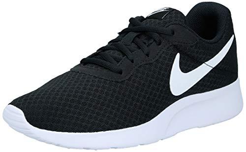 Nike Tanjun, Zapatillas de Running para Mujer, Negro Black/White 011, 39 EU