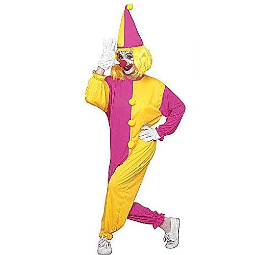 Clown Mädchen - Adult Kostüm