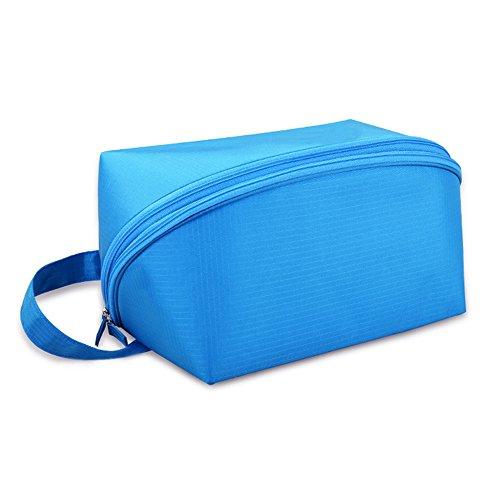 Tuopuda Schwimmbeutel Wasserdicht Wet Dry Separated Swim Bag Fitness Tasche Gymtasche Duffle Tasche Unisex (Blau)