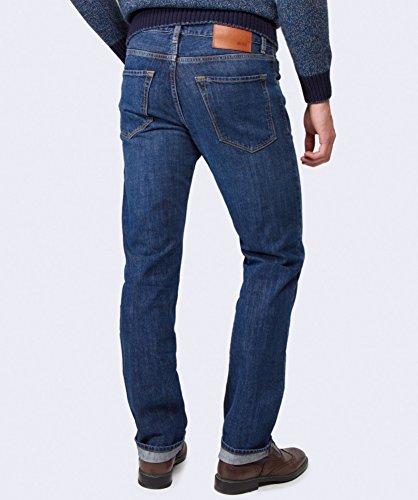 Hugo Boss Black Maine autentico Jeans Regular Fit Blu Blu