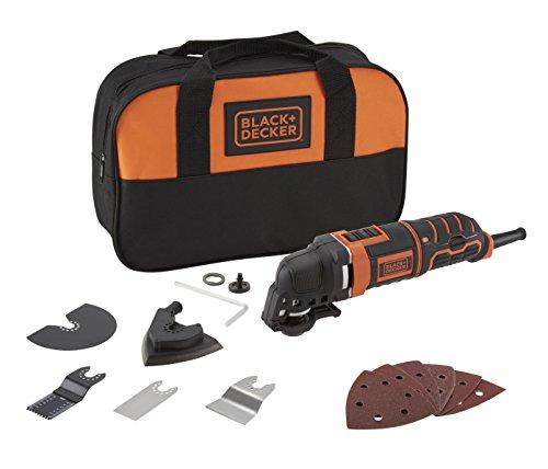Black+Decker MT300SA2 22000RPM 1580g - Amoladora angular (22000 RPM, 90 dB, 101 dB, 10,3 m/s², Corriente alterna)