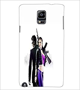 PRINTSWAG ACTION COUPLE Designer Back Cover Case for SAMSUNG GALAXY NOTE 3