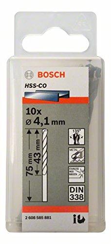 Cobalt-bereich (Bosch Pro Metallbohrer HSS-Cobalt (10 Stück, Ø 4,1 mm))