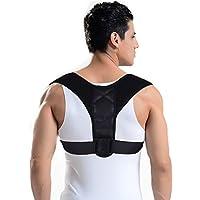 Geradehalter zur Haltungskorrektur Schulter Rücken für eine gesunde Haltung, Corrector Haltungstrainer mit verstellbare Größe für Männer und Frauen, verstellbar und atmungsaktiv