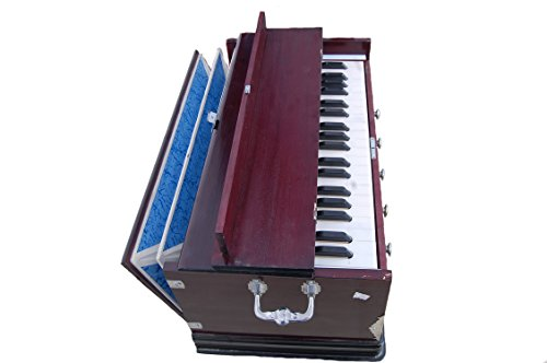 Harmonium 5 stopper,Double Bellow+cover