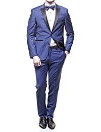 Jean Louis Scherrer - Costume Sch041 Mika Col Pointe Bleu Ralf