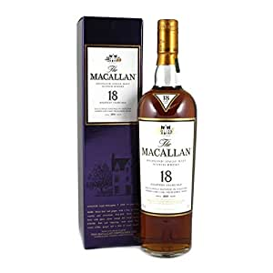 The Macallan Whisky Sherry Oak Malt 18 Year Old 70cl