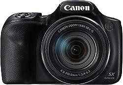 Canon PowerShot SX540 HS Digitalkamera (20,3 MPCMOS-Sensor, 50-fach Ultrazoom, 100-fach ZoomPlus, WiFi, Full HD) schwarz