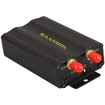 CARCHET Tracker GSM GPRS GPS Localizzatore Satellitare Antifurto Monitoraggio posizionamento Allarme di Emergenza in Tempo Reale per Auto Veicolo