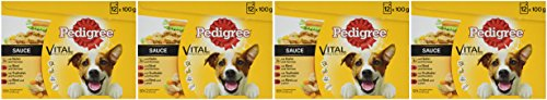 Pedigree Hundefutter in Sauce, 48 Beutel (4 x 12 x 100 g) - 2