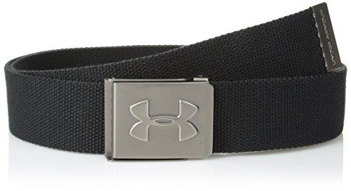 Under Armour Herren Sportswear Gürtel Webbing Belt, Black, One size