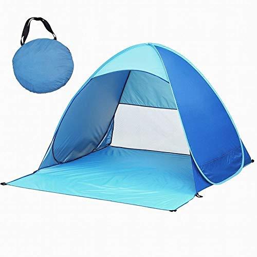 Dovlen Tragbar Draußen Strand Zelt / Sonne Schutz, Automatisch Schnell Öffnung Pop Up Instant UV Schutz Zelten Werkzeuge - Zelt Sonne Strand