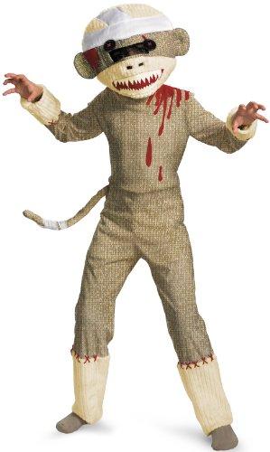 Monkey Boys Costume, 10-12 (Kind Sock Monkey Kostüme)