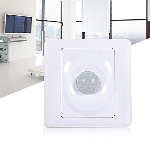 Comtervi PIR Interruptor, Detector de Movimiento Interruptor, automático Interruptor de luz con...