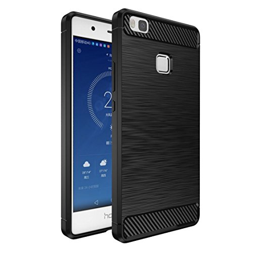 Custodia Huawei P9 Lite Nero , ivencase Lusso Cover Schlank