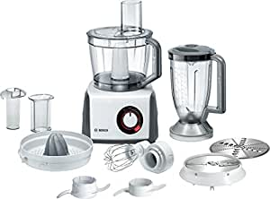 Bosch MCM62020GB Food Processor, 1000 W, 3.9 L - White/Grey
