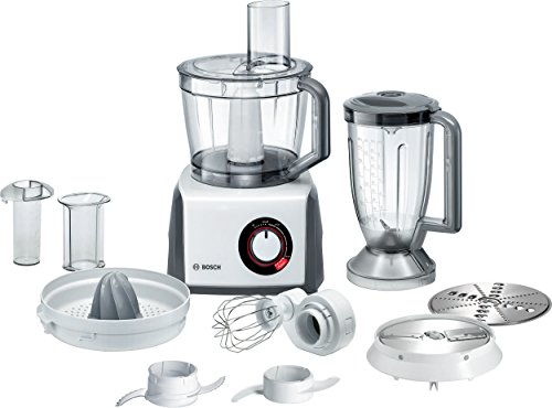 Bosch MCM62020GB White Grey, 3.9 litre, 1000w, 4 Speed, 8 Attachments, Food Processor lowest price