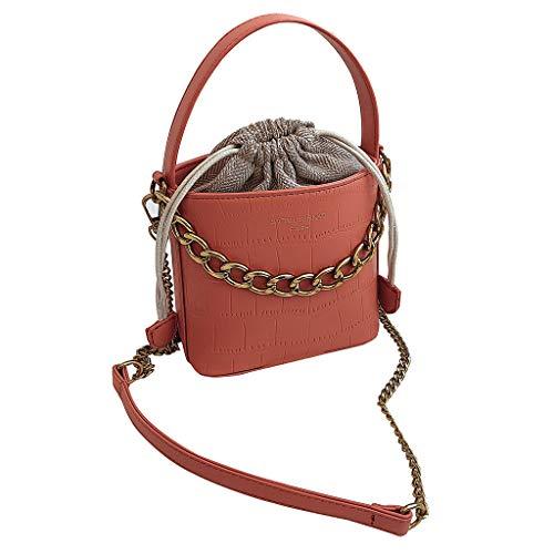Mitlfuny handbemalte Ledertasche, Schultertasche, Geschenk, Handgefertigte Tasche,Mode Frauen Serpentin Leder Crossbody Taschen Messenger Bucket Bag Griff Tasche