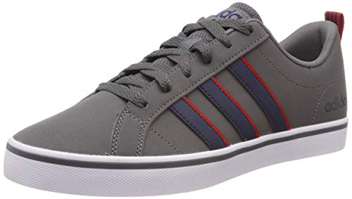 the best attitude c2eb3 cdcd9 adidas Vs Pace, Sneakers Basses Homme, Gris (Grey Four Collegiate Navy