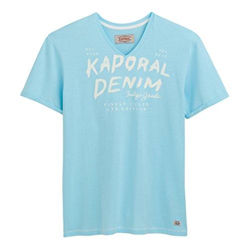 Kaporal Uomo Tshirt A Maniche Corte Proki Taglia 4 Blu