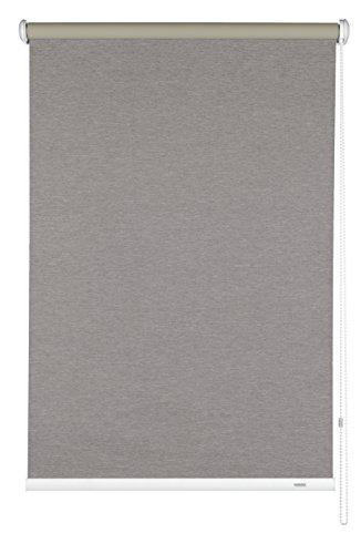 Gardinia tenda oscurante a rullo con catenella laterale, installazione a parete, soffitto o nicchia, opaca, kit di montaggio incluso, marrone, 52 x 180 cm (lxa)