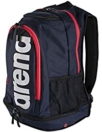 Arena Fastpack Core - Zaini Unisex Adulto, (Navy/Red/White), 36x24x45 cm (W x H L)