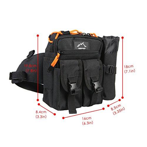 Gehorsam Helikon Tex Possum Waist Pack Hüfttasche Gürteltasche Tasche Black Schwarz Camping & Outdoor