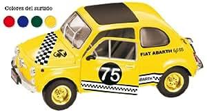 Mondo Motors Fiat 500 Cinquecento Abarth Nr 82 Argent Tuning 1/18 Mondo Motors Voiture Modèle