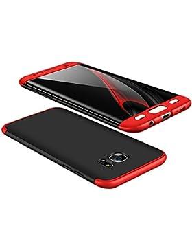 vanki Samsung Galaxy S7 Edge Custodia 360 Gradi della Copertura Completa 3 in 1 Hard Stilosa Pc Case Cover Protettiva...