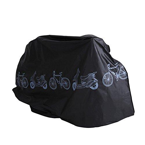 Caredy wasserdichte Motorradabdeckung, UV-Staubschutz Regenmantel Regenschutz Rollerabdeckung Allwetterschutz für Fahrrad, Roller, Motorrad (#9)