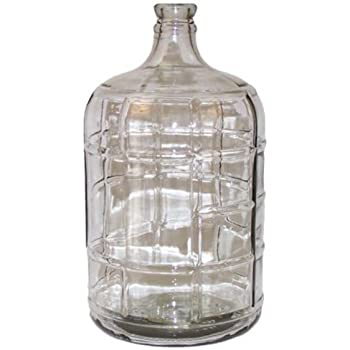 PET Plastic Carboy 5 Gallon With Bored Bung Ritchies