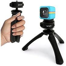 igadgitz Mini Treppiede da Tavolo Stabilizzatore Manico per Polaroid Cube HD, XS100 & XS100i Extreme Edition Action Cams - Nero (Polaroid Adattatore Obbligatorio)