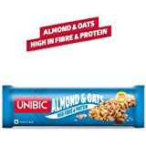 Unibic Snack bar Almond & Oats Pack of 12, 360g