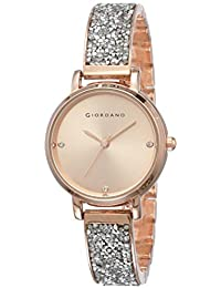 Giordano Analog Rose Gold Dial Women's Watch-C2162-22