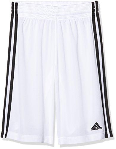 adidas Jungen Y Commander S Shorts, schwarz/Weiß, 140 (Herstellergröße: 9-10 Jahre)