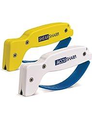 Accusharp Affûteur de couteau et ShearSharp Affûteur de ciseaux