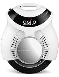 Agilo Duo - Doble monorueda, monociclo eléctrico, self balancing, scooter unisex adulto, Unisex adulto, Duo, Bianco