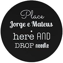 Place Jorge E Mateus ici et de chute l'aiguille slipmat 7 inches