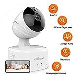 Caméra IP sans Fil 1080P HD, Caméra de Surveillance WiFi de Sécurité, Caméra IP...
