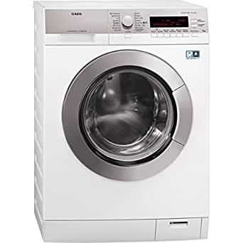 AEG L 87695 WD2 freestanding Front-load A+++-10% Grey,White washer dryer - Washer Dryers (Front-load, Freestanding, Grey, White, Left, LCD, 6 kg)