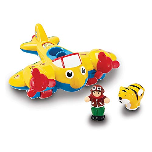 WOW Toys - Johnny Jungle Plane, avión de juguete (01013)